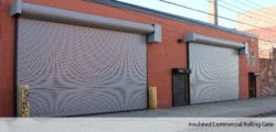 Insulates Rolling Steel Gates