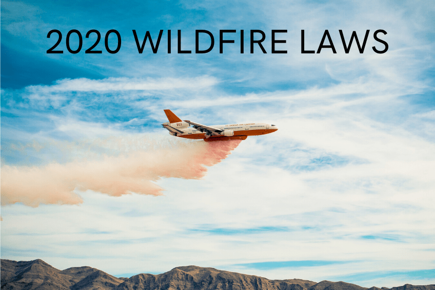 California's New 2020 Wildfire Laws Explained - Fraker Fire Protection