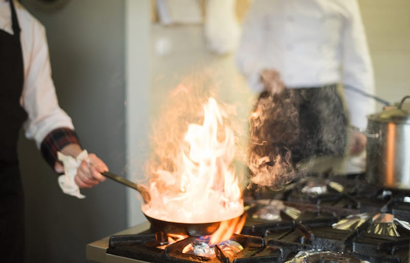 How To Reduce The Risk Of A Commercial Kitchen Fire - Fraker Fire