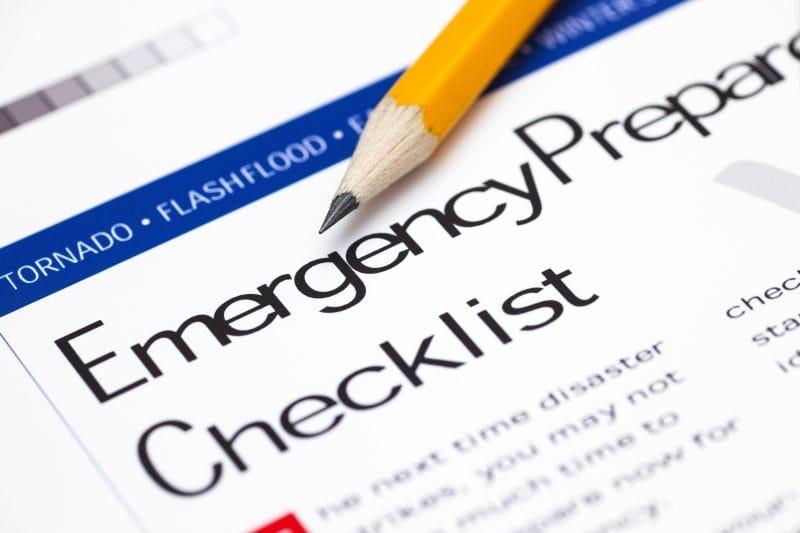 Emergency Preparedness Checklist What You Should Know - Fraker Fire