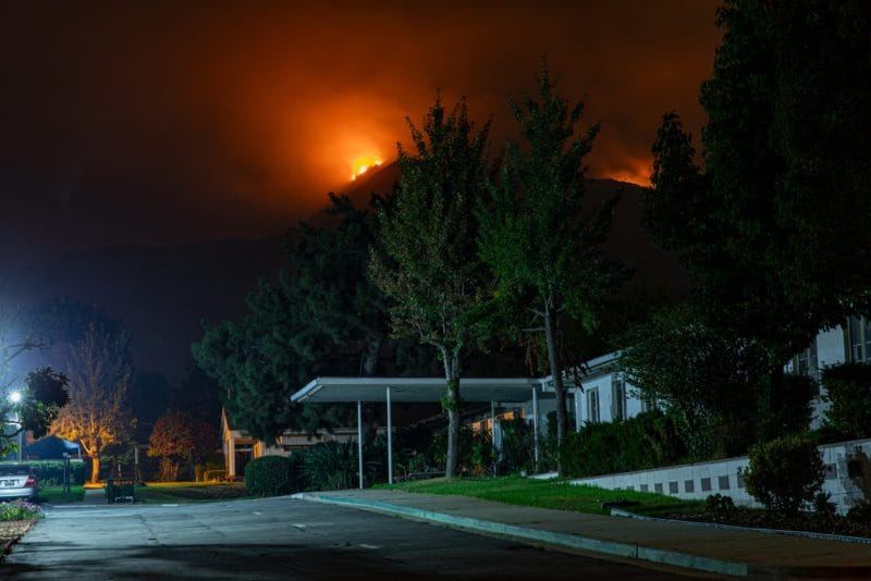Wildfire Prevention: What to Know With Warmer Weather - Fraker Fire