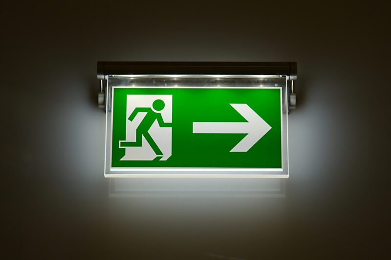 Illuminating the Importance of Emergency Lighting in Fire Safety - Fraker Fire