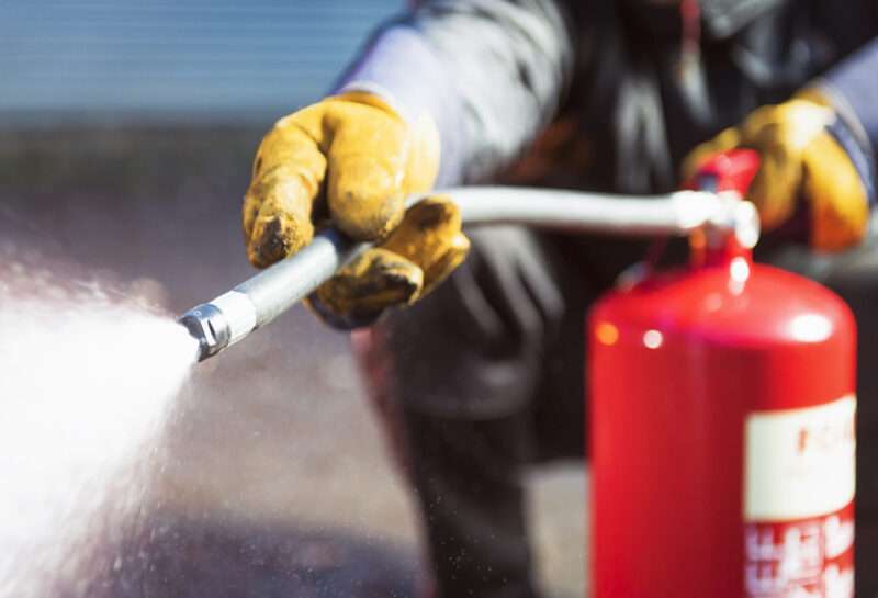 When Should You Use a Foam Fire Extinguisher? - Fraker Fire